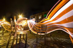 Allée Rimbaud (tOntOnfred LP) Tags: light painting urban ville charleville france