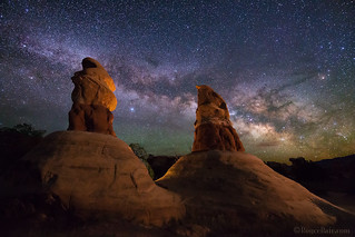 Milky Way over Devil's Garden