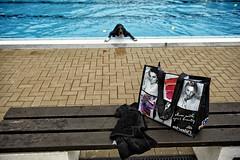 Back To The Towel (Monty May (OBSERVE)) Tags: iserlohn germany street streetphotography dogs humour