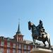 Philip III Statue, Plaza Mayor Madrid