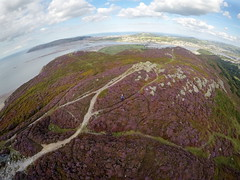 Conwy Mountain (Apionid) Tags: conwymountain aerial kap gopro wales northwales kiteaerialphotography conwy greatorme llandudno