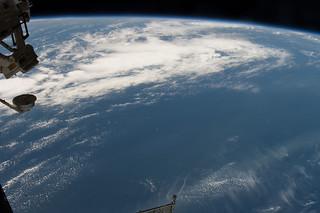 ТС530-Зеркало satellite being deployed