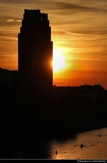Main Plaza @ Sunset, Frankfurt, Germany