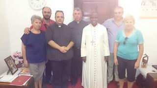 Visita di Monsignor Giusti a Dar (Tanzania)