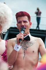 2017_Aug_Pride-693 (jonhaywooduk) Tags: lady galore this is how we drag amsterdam pride 2017 canal boat transvestie