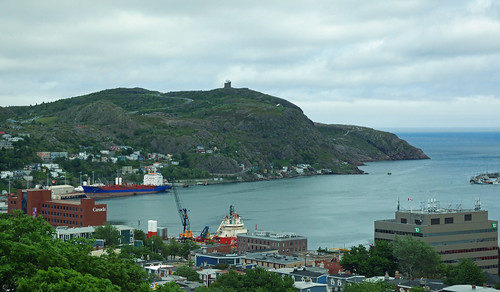 Signal Hill from the Rooms