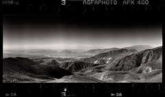 Shapes of Time (tsiklonaut) Tags: horizon 202 panorama panoramic pano panoraam 135 35mm film analog analogue analogica analoog roll black white negro y blanco mustvalge wide agfa apx 400 ethol ufg tjan shan tian mountains high altitude view landscape kirgiisia kyrgyzstan heavenly mountain travel discover experience drum scan drumscan scanner pmt photomultipliertube kõrgus kõrgustes