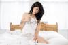 Jade (Tor Photography) Tags: girl woman model dlamour bed sheets jadeamara pentax light sexy portrait
