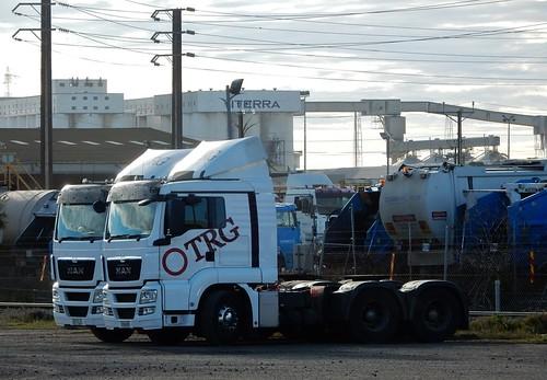 Trucks in Industry Land