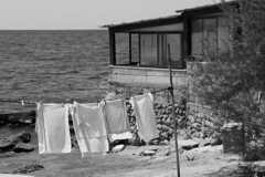 Panni Stesi (Markus Photography) Tags: vintage pannistesi monocromo mare
