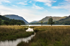 Serene Buttermere (photoart33) Tags: serene tranquil lake stream cumbria buttermere lakedistrict mountains