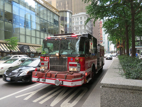 Ambulance  Assist Call - Daley Center - Chicago