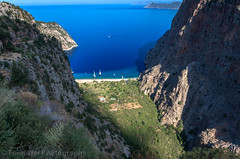Butterfly Valley, Faralya, Fethiye, Muğla, Turkey (Feng Wei Photography) Tags: traveldestinations fethyie landscape landmark eastasia vacation euroasia turkeymiddleeast paradise mediterraneanturkey coastline oludeniz bayofwater travel secluded lycianway outdoors relaxed horizontal lycia muglaprovince highangleview scenics colorimage sea remote ölüdeniz beach turquoisecolored beautyinnature uzunyurt gettingawayfromitall cliff famousplace turquoisecoast highup turkishculture tourism mediterraneansea turkish