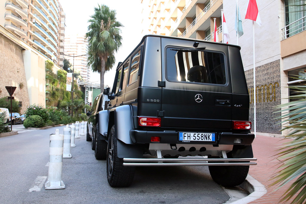 The world 39 s most recently posted photos of g500 and for Garage mercedes monaco