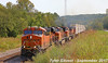 BNSF 8216 Leads EB Intermodal Shawnee, KS 9-9-17 (KansasScanner) Tags: shawnee kansas bnsf train railroad zarah