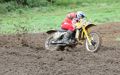 Fighting for traction. (welloutafocus) Tags: scrambling suzuki mx racing offroad mud