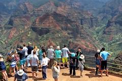 Waimea Canyon Lookout (DaveFlker) Tags: waimea canyon kauai hawaii view lookout scenery