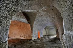 Carrière souterraine de craie (flallier) Tags: carrière souterraine craie underground chalk quarry voûtes galeries tunnels niche