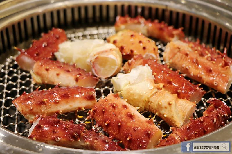 原月日式頂級帝王蟹吃到飽板橋燒烤吃148