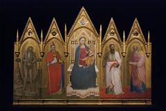 Rome - 77 (• CHRISTIAN •) Tags: rome roma italie italia italy vatican musée museum art gothique gothic peinture painting médiéval moyenâge medieval middleages religion saints 50mm f14 retable
