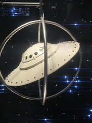 Lost In Space or Plan 9 From Outer Space Fashion 0370 (Brechtbug) Tags: lost in space fashion spaceman cosmonaut suit flying saucers store front display window department madison avenue nyc 2017 moncler near barneys new york city 09162017 bubble helmet russian astronaut men spacemen man plan 9 from outer ed wood windows universe suits astro scifi science fiction stores halloween holiday fashions clothes outfit flight orbital saucer above galaxy