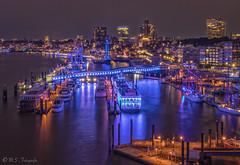 Hafen Hamburg (mar_lies1107) Tags: elbe hafen hamburg blueport langzeitbelichtung