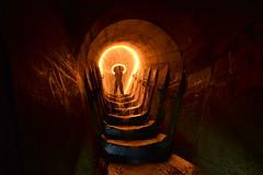 Lighting Up The Underworlds... (JAZ-art) Tags: jazart jaz art storm water drain melbourne steel wool spinning urban urbex light painting
