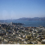View of San Francisco from Coit Tower - 1966 thumbnail