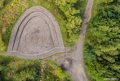 Milly was here (Steve Samosa Photography) Tags: parks sthelens england unitedkingdom gb countrypark countryside bold merseyside aerial dronecamera drone