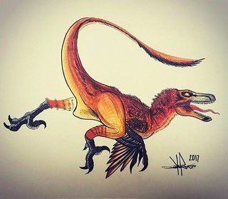 Velociraptor Mongoleinsis