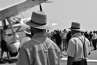 Amish at the Lancaster Airshow 2017