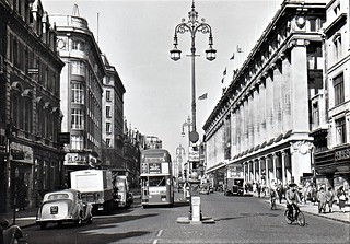 Oxford street London May 27th 9.30am 1957.