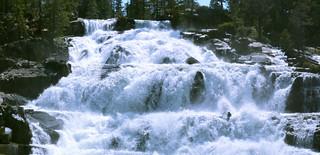Glen Alpine Falls Pano
