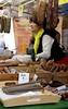 Melsungen, Marktplatz, nordhessische Ahle Wurst (Norther Hesse sausages) (HEN-Magonza) Tags: melsungen hessen hesse deutschland germany marktplatz wochenmarkt rathaus townhall market ahlewurst ahleworscht ahlewurscht weeklymarket farmersmarket