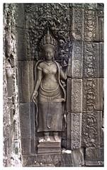 IMG 109 - Apsara (Phytophot) Tags: temple khumer cambodia angelsonearth smileonsaturday ankor wat apsaras devatas