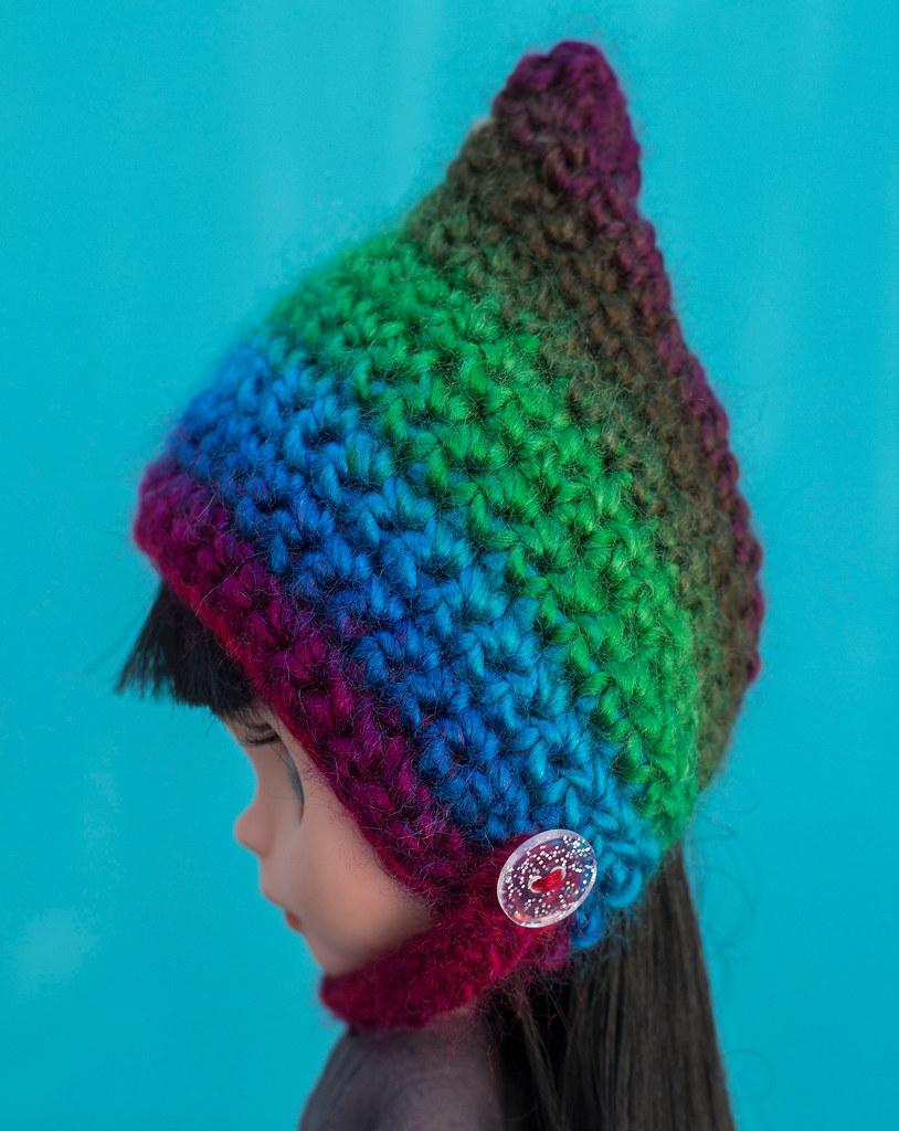 757f1c92120 Crocheted Pixie   Gnome Hats ! ( danie11e ) Tags  crochete pixie beanie gnome  hat
