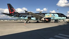OO-SNB (Breitling Jet Team) Tags: oosnb brussels airlines tintin euroairport bsl mlh basel flughafen