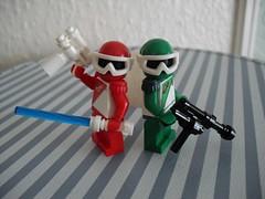 LechRanger (Alternate Weapons) (Śląski Hutas) Tags: lego moc bricks minifigures poland polska hungary magyar sentai toku rangers toy