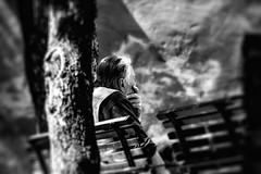 Thinking (andersåkerblom) Tags: sitting man streetphotography streetphoto monochrome blackandwhite