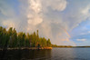 0246C2015-1aclouds (bassgal71/Sarah Rodefeld) Tags: canada clouds rainbow evening water lake ontario nature wilderness outpost remote