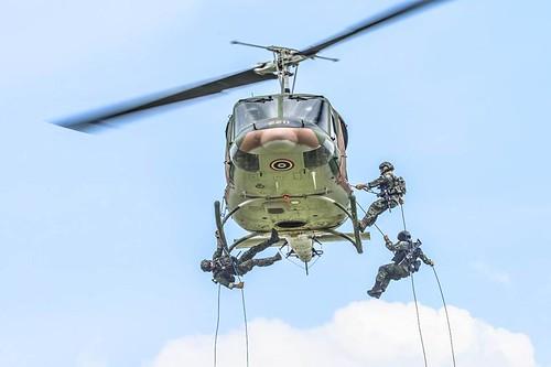 2211 / Bell 212 ASW / cn 30875 / in flight Thailand / 2000s / Royal Marines training / (FB We love Hua Hin) /