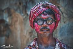 Color on face : Festive mood! (designer2alok) Tags: srimangal sreemangal