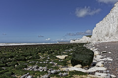 The Seven Sisters (Simply Lewis) Tags: canoneos5dmarkii canonef24mmf28isusm uk england eastsussex birlinggap cliff chalk coast sea seaside beach rocks pebbles shingle