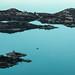 Uma das ilhas com um monastério