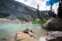 Lake Louise in Banff Nationalpark (MH Photography Austria) Tags: longexposure lakelouise banffnationalpark bildschmiedeschölmlahn canon canon70d canonaustria tokina mhphotography canada holiday