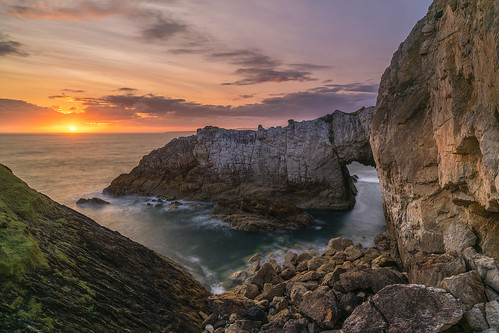 'White Arch Sundown' - Rhoscolyn, Anglesey