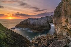 'White Arch Sundown' - Rhoscolyn, Anglesey (Kristofer Williams) Tags: sunset seascape sea coast geology rhoscolyn anglesey wales whitearch bwagwyn landscape coastal