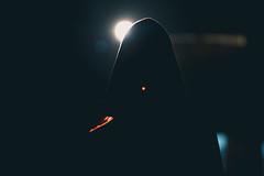Ghost. (Photo Stories by Swaniket Chowdhury) Tags: nikon nikond3300 85mm 85mm18g night nightlight eve lowlight backlight moody men apsc cropsensor adobe lightroom cc