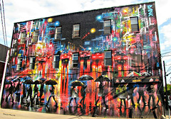 Tokyo Candles (deplour) Tags: fresque mural painting tokyo candles moncton