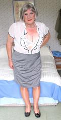 Nancysptblostd (fionaxxcd) Tags: cd tg ts ladyboy drag femmeboi mtf m2f transvestite tranny trannie crossdresser crossdressing xdresser xdressing redlipstick shinytights pearls patentshoes lacybra bust